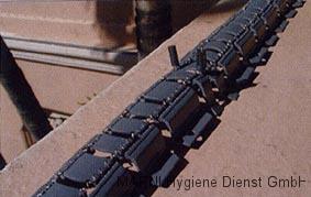 Taubenabwehr mit Elektroverfahren - Elektrosysflexitrak